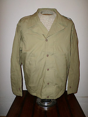 Wwii U.s Military Army M-41 Field Jacket Reproduction Model 41 Size 50 Regular