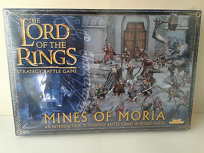 GAMES WORKSHOP LORD OF THE RINGS MINES OF MORIA STARTER LOTR NEW NUEVO WARHAMMER