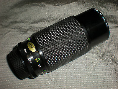 Vivitar Series 1 70-210mm f/2.8-4 VMC Macro Focusing Zoom Lens Nikon Mount