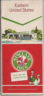 EASTERN UNITED STATES SINCLAIR OILS (1958?) - VG/FINE
