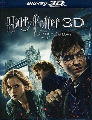 Harry Potter and the Deathly Hallows, Part 1 [3D] DVD Region 1