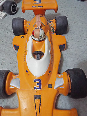 Vintage JOHNNY RUTHERFORD INDY RACE CAR WHISKY DECANTER,  1974 McLaren