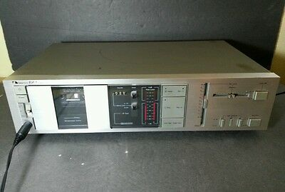 Vintage Nakamichi 2 Head Cassette Deck ~Model # BX-1~Works~