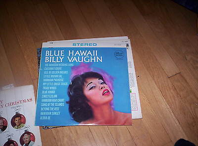 Blue Hawaii Billy Vaughn and Orchestra Record Vinyl LP - NICE!