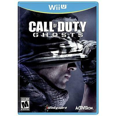 Call of Duty: Ghosts  (Wii U)  Brand New (UNOPENED) Factory Sealed