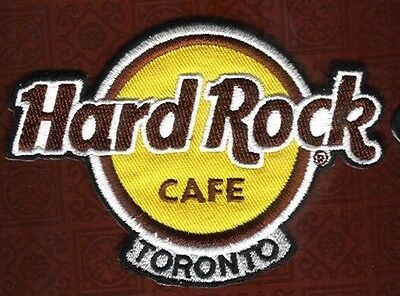 Hard Rock Cafe  Niagara Falls Toronto Logo Patch