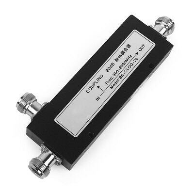 20dB coupler N-female type cavity directional 800-2500MHz frequency