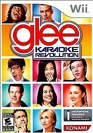 Karaoke Revolution: Glee  (Game Only)  (Wii, 2010) BRAND NEW