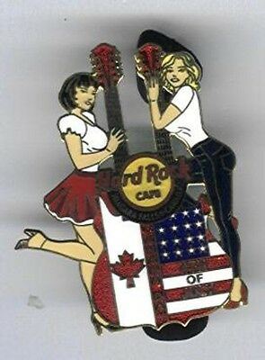 Hard Rock Cafe Niagara Falls Canada Canada Day July 4th Girls 2011 Pin