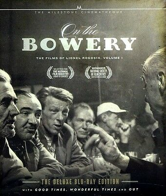 On the Bowery: The Films of Lionel Rogosin, Vol. Blu-ray Region A