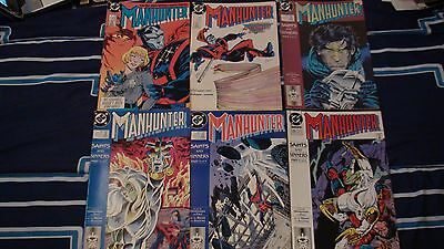 DC COMICS MANHUNTER LOT OF 6 BOOKS #5, #9, #18, #19, #20, #23
