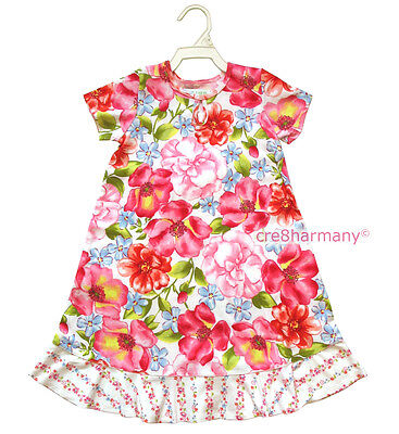BABY LULU ★ Wild Rose NWT NEW Girls Floral Party Dress ★ size 4 ★ USA Designer