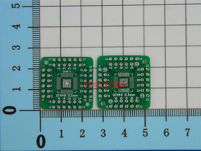 5pcs QFN48 TO DIP48 QFN QFP44 0.5mm QFP48 PQFP LQFP adapter board#SE305-1