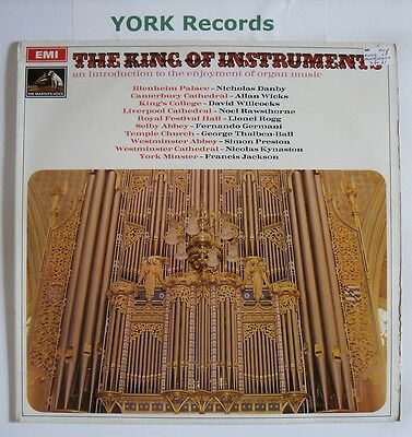 SEOM 4 - THE KING OF INSTRUMENTS - Classical Organ Music - Ex Con LP Record