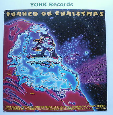 TURNED ON CHRISTMAS - Royal PO PAUL FREEMAN - Ex Con LP Record Columbia C 40441