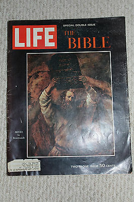1964 December 25 LIFE Magazine The Bible - Double Issue