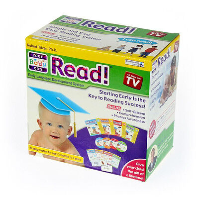 Your Baby Can Read! Volumes 1, 2, 3 & 4 Dvd's & Cards