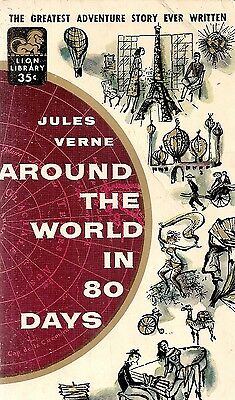 JULES VERNE AROUND THE WORLD IN 80 DAYS USED  in  BOX 28