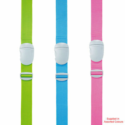 Go Travel - Glo Strap (Assorted Colours) - Luggage Strap - FREE Delivery!