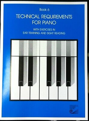 Book 6 Technical Requirements for Piano