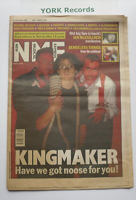NEW MUSICAL EXPRESS NME - January 11 1992 - KINGMAKER / IAN McCULLOCH