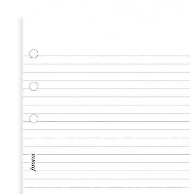 Filofax - Personal White ruled notepaper value pack - Filofax Stationary Refills