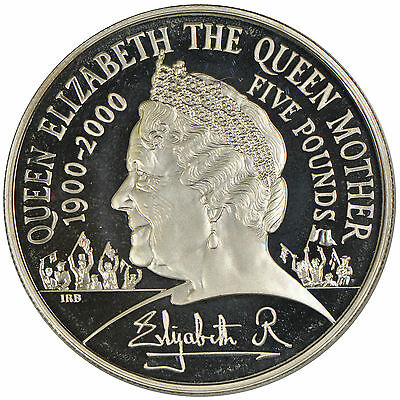 2000 Royal Mint Commemorative Solver Crown - The Queen Mother Centenary