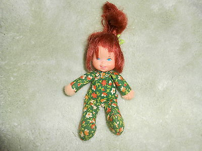 HONEY HILL BUNCH SWEETLEE DOLL w/ HAIR RIBBON 1975 MATTEL VINTAGE RED HAIR 5""