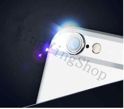 Silver Metal Rear Camera Lens Protector Protective Ring for iPhone 6 (4.7 inch)