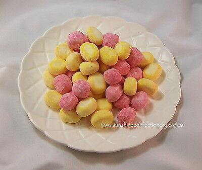 Bonbons Rhubarb and Custard - 360 gm -  IMPORTED FROM UK (English Sweets)