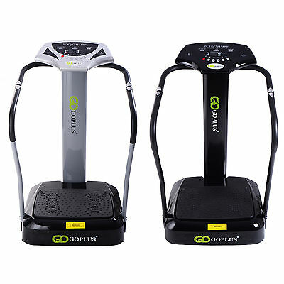 2500W Crazy Fit Massage Vibration Power Plate Machine Oscillating Gym Fitness