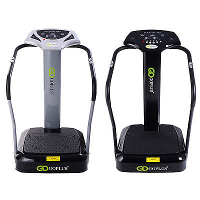 Crazy Fit Massage Vibration Power Plate Machine Oscillating Gym Exercise Fitness