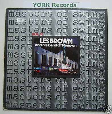 LES BROWN & HIS BAND OF RENOWN -Masters Of Swing -Ex LP