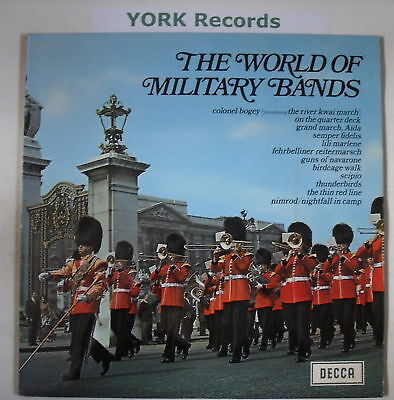 WORLD OF MILITARY BANDS - Excellent Condition LP Record