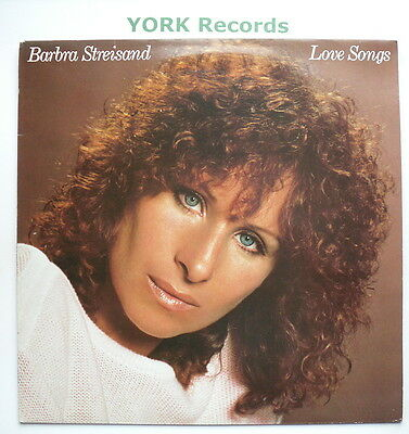 BARBRA STREISAND - Love Songs - Excellent Condition LP Record CBS 10031