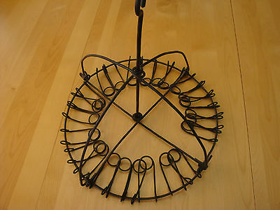ANTIQUE MERCANTILE STORE DISPLAY BROOM HOLDER BUGGY WHIP HOLDER FOR 24 BROOMS