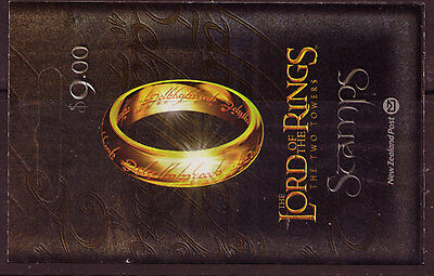 "New Zealand 2002 Lord Of The Rings ""The Twin Towers""  Booklet"