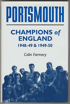 Portsmouth Champions Of England Book Rare Orig Hand Signed With 4 X Signatures