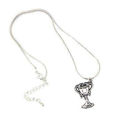 Official Hogwarts Silver Plated Triwizard Cup Necklace - Harry Potter Pendant