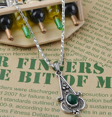 New Classical Natural hot resin cute tibet silver Necklace+Pendant H-1650