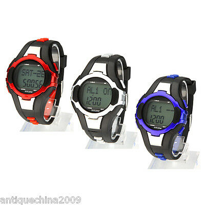 Popular Heart Rate Pulse Monitor Calorie Counter Sport Watch 3 Color