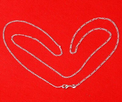 1pcs 24cm 925 Sterling Silver 3 laps Chain Necklace Fashion Jewelry FG74