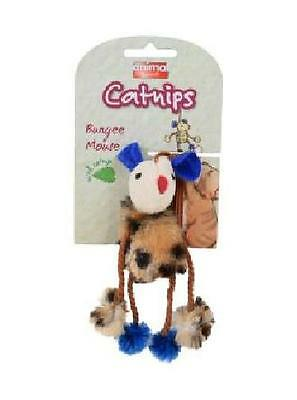 Animal Instincts Catnips Bungee Mouse 7.6cm Treat Toy