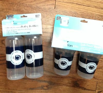 Penn State Baby Bottles and Sippy Cups - BPA Free - BNWT