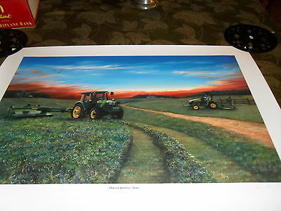 LIMITED EDITION JOHN DEERE 2004 INTRO PRINT