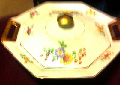 Theodore Haviland Limoges CASSEROLE OR SERVING BOWL with Lid