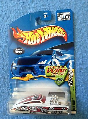 Hot Wheels Grave Rave Series EVIL TWIN 2002 Collector #099 NEW MOC