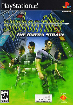 Syphon Filter: The Omega Strain (Sony PlayStation 2, 2004) Complete
