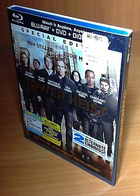 Tower Heist w/ Slip Cover Blu Ray / DVD, 2012, Special Edition