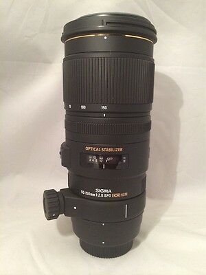 SIGMA 50-150mm f2.8 OS APO DC HSM for Canon